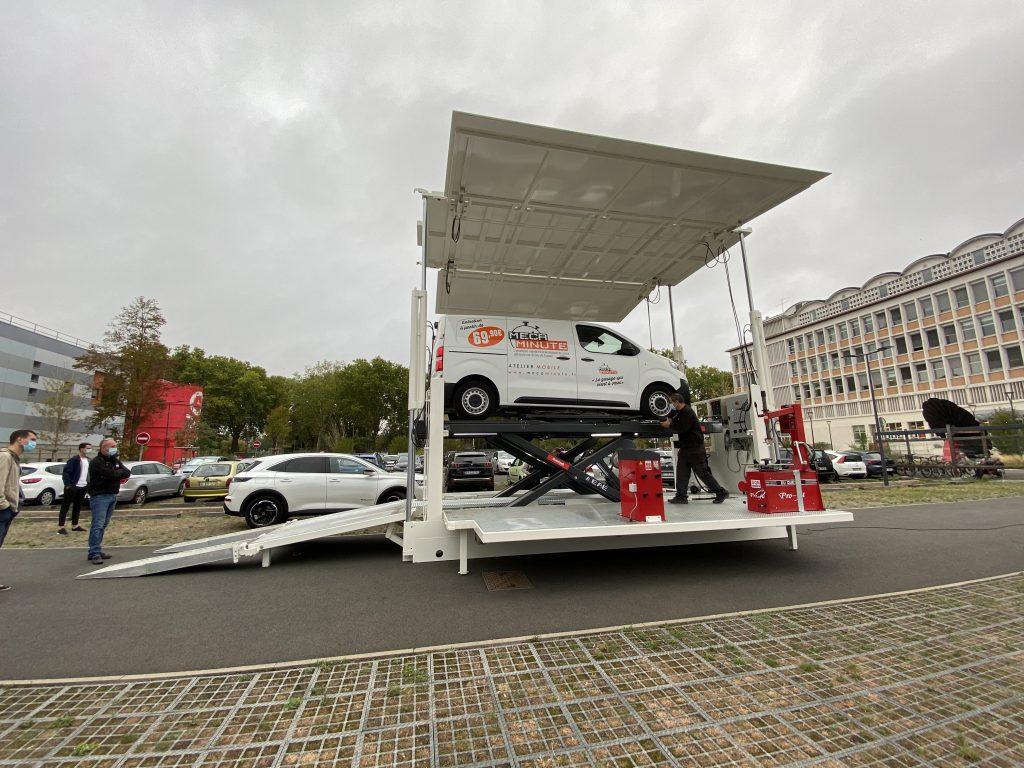 Le nouveau concept de garage mobile Mécaminute