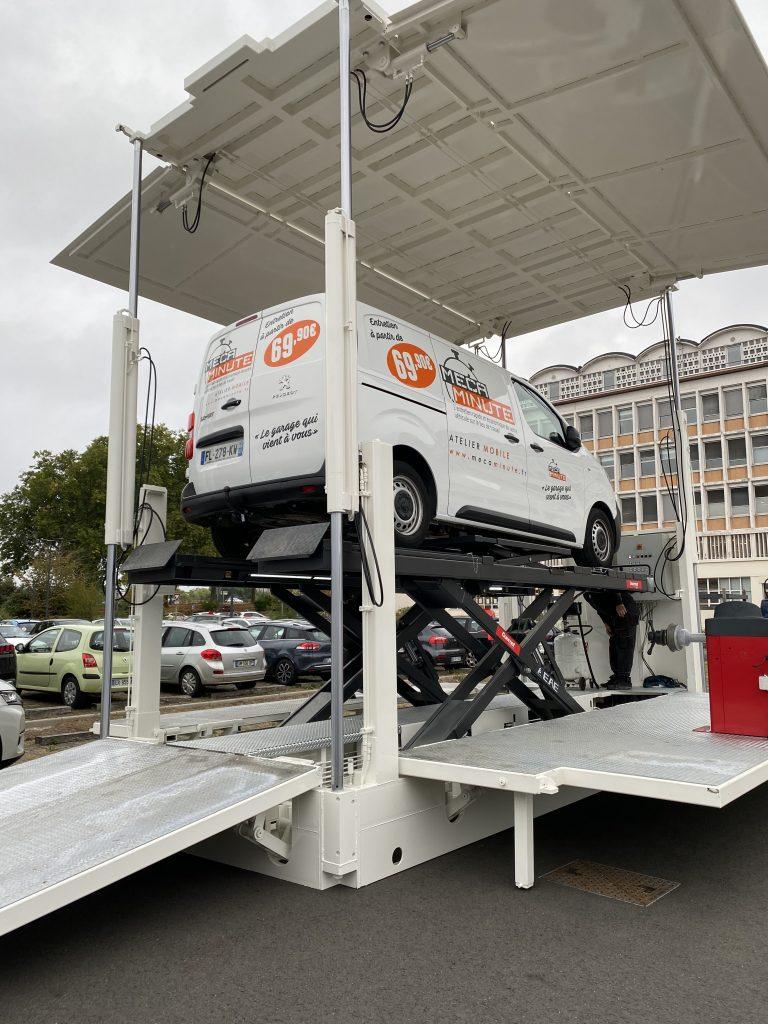 Le nouveau concept de garage mobile Mécaminute 2